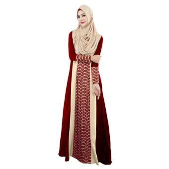 Fashion Muslim Abaya Women Islamic Dress Pakistan Clothing - intl Price Philippines