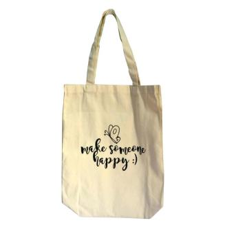 Harga Make Someone Happy Tote Bag