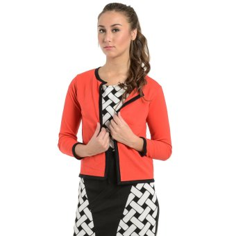 Harga Jewelmine Pixie 33 Open Blazer (Red)