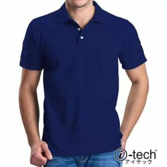 Harga I-tech Blank Polo Shirt (Royal Blue)