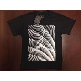 Harga Hoops Jordan Logo with stripes diagonal t-shirt