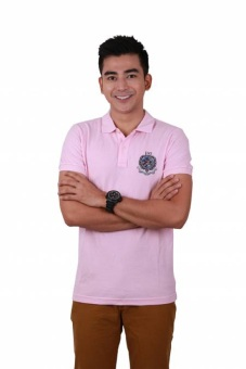 Harga Freego Barely Pink Polo Tee