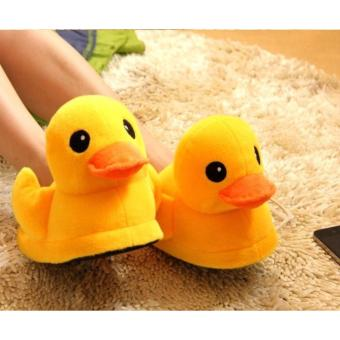 Harga HOME SLIPPERS / COTTON / BATHROOM /GY01 DUCK (YELLOW)