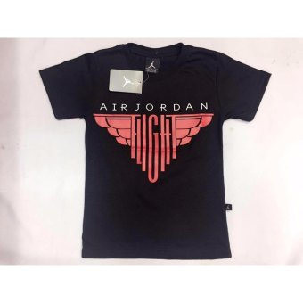 Harga air jordan flight t-shirt teens small