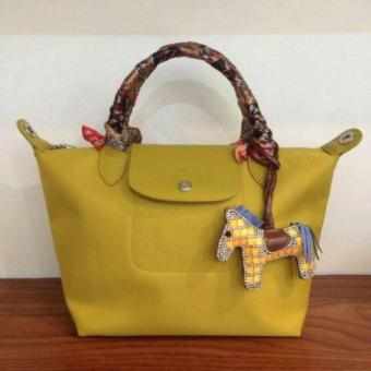 LC Long Le Pliage Champ Neo Small Free Twilly & Charm Original (MUSTARD YELLOW) Made in France SHORT HANDLE Price Philippines