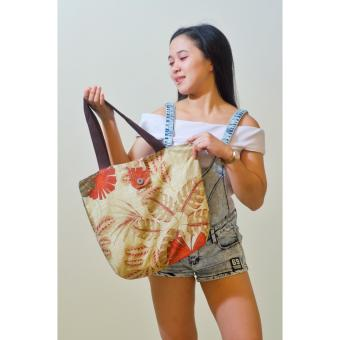 Frond Artweark Tote Bag (Beige) Price Philippines
