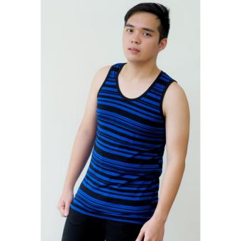 Artweark Striped Tank Top (Blue) Price Philippines