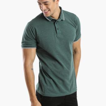 Harga Men's Club Mens Pique Polo Shirt (Green)