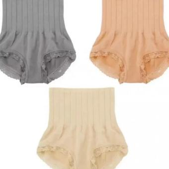 Munafie Slimming Panty Set of 3 (Beige, Nude, Gray) Price Philippines