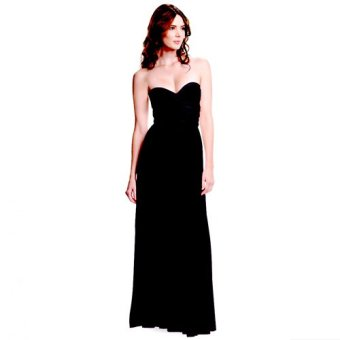 French dolls infinity multiway dress in black- floor length Price Philippines