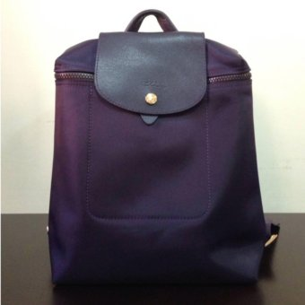 Harga LC Le Pliage Neo Backpack BILBERRY Longchamp