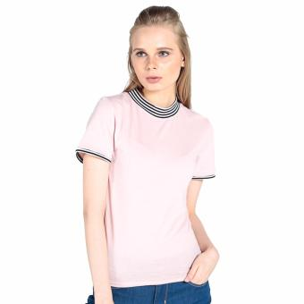 Harga OXYGEN Tee with Tipping (Blush)