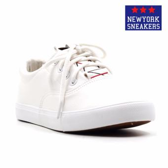 Harga New York Sneakers Jazmine Low Cut Shoes(WHITE)