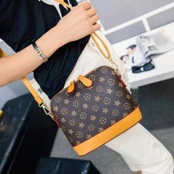 Harga New Fashion Korean Handbag/Sling Bag(Coffee/Mustard)