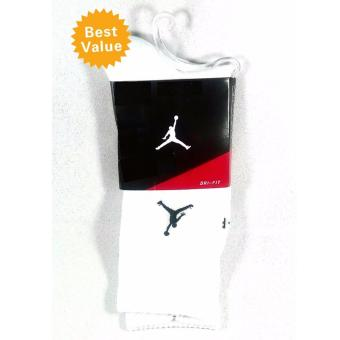Harga Mens Socks Fashion Jordan Brand Long Socks Sports Cotton shoe socks