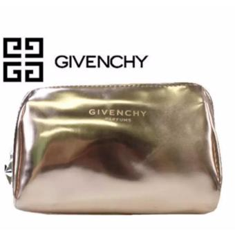 Harga Givenchy Parfums Gold Patent Cosmetic Makeup Pouch Bag 48 grams