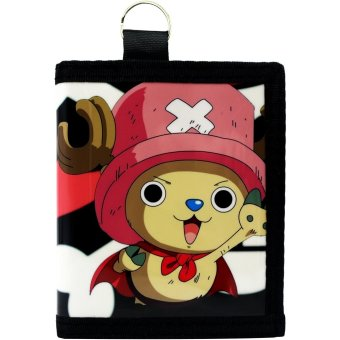 Anime Cute Chopper Man One Piece Trendy Glossy Printed Wallet Price Philippines