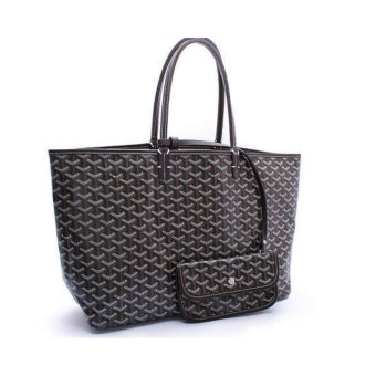 Goyard leather shoulder bag Mommy bag Lottery explosion large - intl Price Philippines