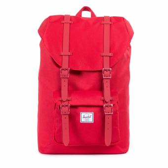 Herschel Little America Backpack - Red/Red Rubber Price Philippines