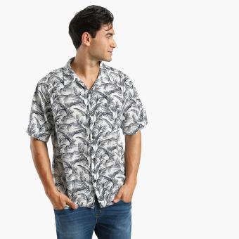 Coco Republic Mens Tropical Casual Shirt (White) Price Philippines