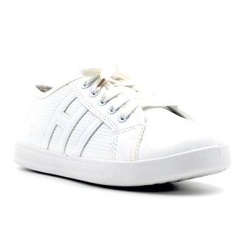 Harga New York Sneakers Alex Low Cut Shoes (White)