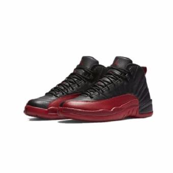 Harga AIR JORDAN 12 RETRO BLACK AND RED - Intl - intl