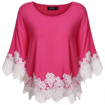 Cyber Finejo Women Floral Lace Casual Top Shirt Blouse Price Philippines