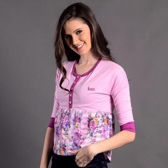 Bum Ladies Next Nature Blouse (Purple) Price Philippines