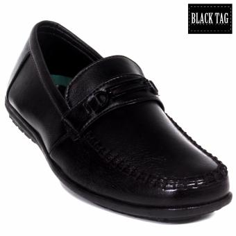 Harga Black Tag Hayden - #81 Formal Shoes for Men (Black)