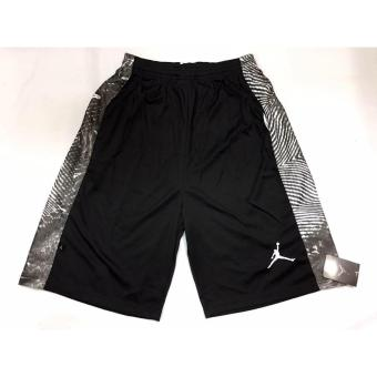 Harga Hoops Jordan shorts with side print design