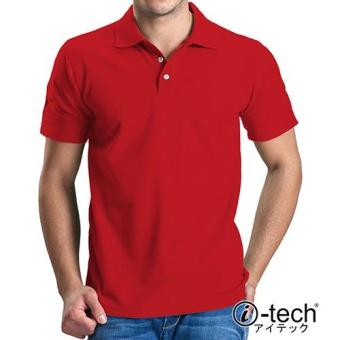 Harga I-tech Blank Polo Shirt (Red)