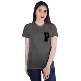 Cotton Republic Your Initial - Letter P (Grey) Price Philippines