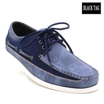 Black Tag Horace Grant 4450 Boat Shoes For Men (Blue) Price Philippines