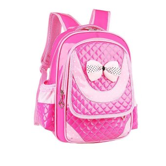 Children Shoulder Bags Backpacks Schoolbag For Primary Girl Hot Pink Price Philippines