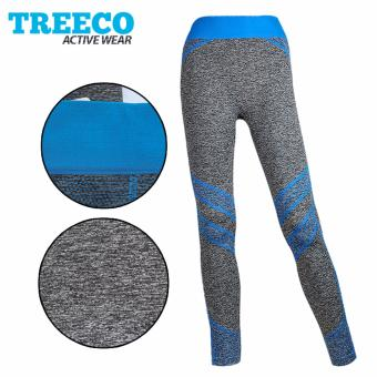 Treeco Fashionable Active Sports Leggings 907 (Blue) Price Philippines