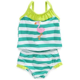 Carter's 2-Piece Ruffled Tankini (Flamingo) (3-6 Months) Price Philippines