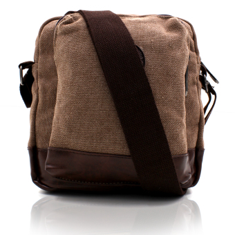 Attraxion Jian 1013-14 Crossbodybag for Men (Dark Brown) Price Philippines