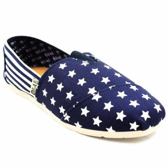 Harga New York Sneakers Stars and Stripes (BLUE AND WHITE)