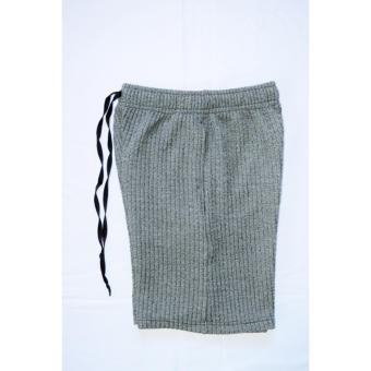 Artweark Ribbed Sweat Shorts (Gray) Price Philippines