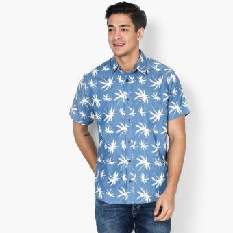 Coco Republic Mens Tropical Casual Shirt (Blue) Price Philippines