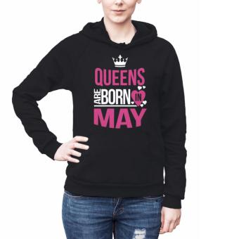 Harga Birth Month Hoodies for Women - May (black)