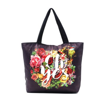 Harga London Fashion Oh Yes Tote Bag (Black)