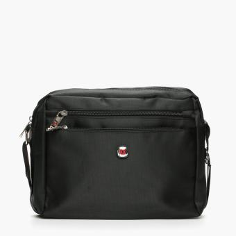 Harga Salvatore Mann Fang Messenger Bag (Black)