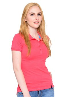 Freshgear Girls Solid Polo Tee (Rouge Red) Price Philippines