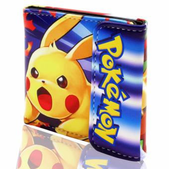 ANIME ZONE POKEMON Endearing Pikachu Colorful Trendy Printed Trainer Wallet Price Philippines