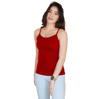 Cotton Republic Spaghetti Inner Blouse Red Price Philippines