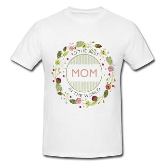 Harga Best Mom T-Shirt (White)