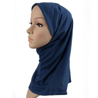 2017 fashion muslim scarf hijab shawl New Fashion Stretchy Muslim Hats Hijab Underscarf Caps Turban Women's Bonnet - Intl Price Philippines
