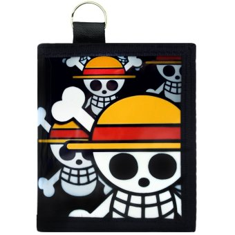 Anime Straw Hat Pirate One Piece Trendy Glossy Printed Wallet Price Philippines