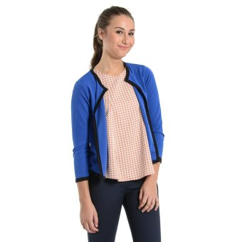 Harga Jewelmine Pixie 36 Open Blazer (Blue)